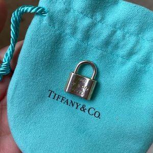 Authentic Tiffany & Co lock pendant